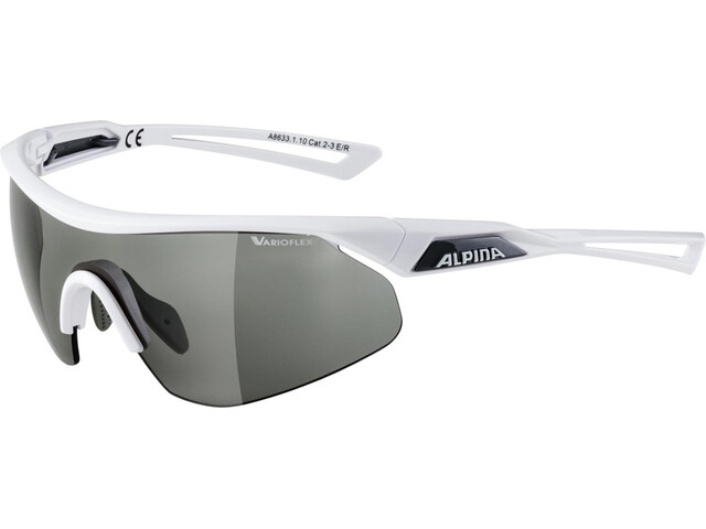Alpina Nylos Shield VL Glasses white